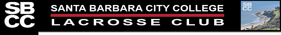 Santa Barbara City College Lacrosse Logo
