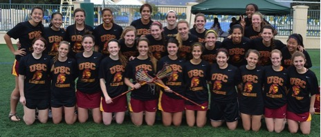 USC Women's Lacrosse Club Logo