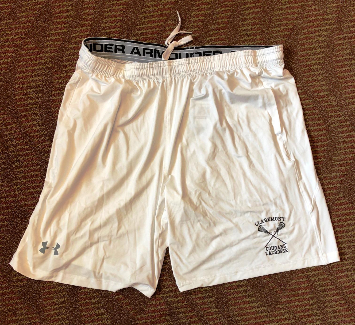 2017 Cougar white shorts