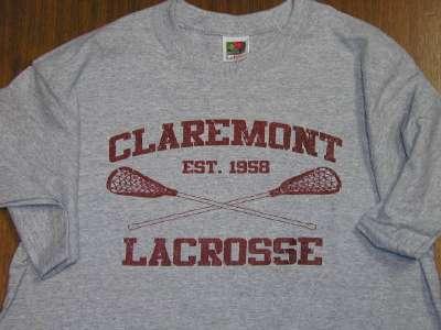 Vintage Claremont Lacrosse Shirt