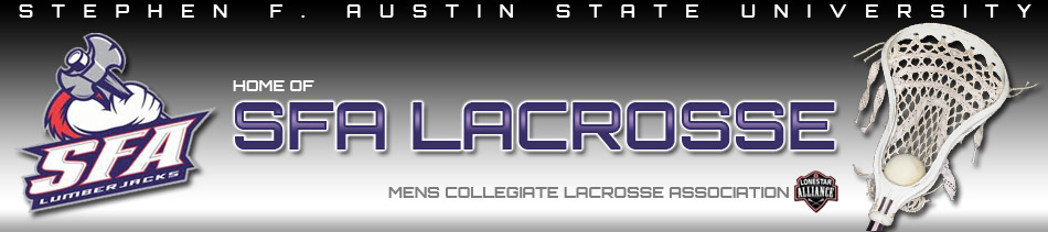 Stephen F. Austin Men's Lacrosse Club Logo