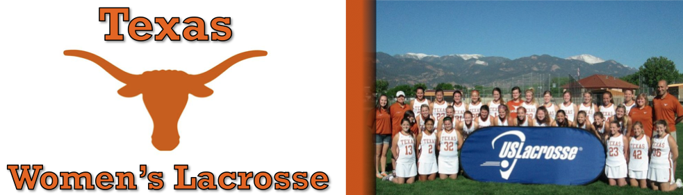 The University of Texas Women's Lacrosse Logo