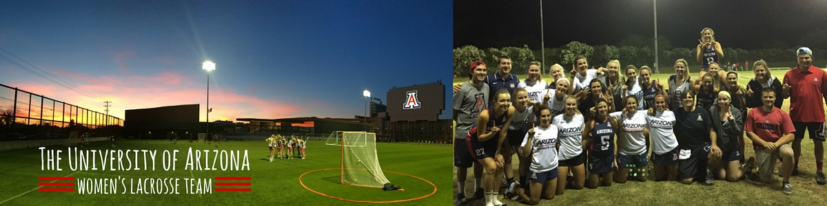 University of Arizona Women's Lacrosse Team Logo