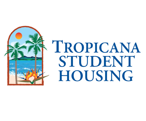 Student Housing Logo Tropicana Student Housing