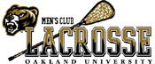 Oakland University Men's Lacrosse Logo