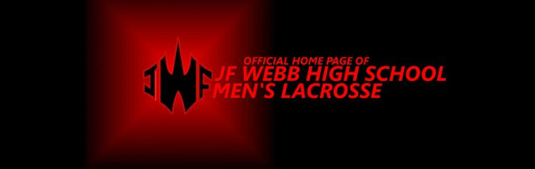 JF Webb High School Men's Lacrosse Logo